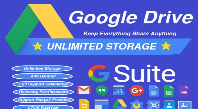 Mua dung lượng Google Drive vĩnh viễn