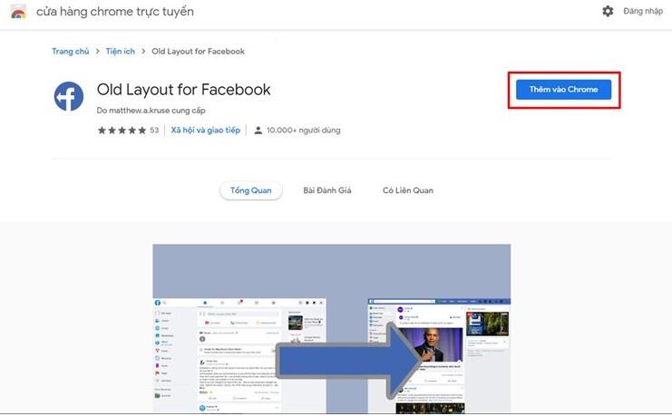Cách trở về giao diện facebook cũ