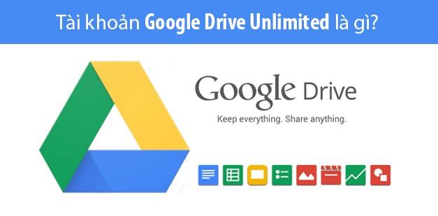 tài khoản google drive unlimited